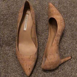 Diane von Furstenburg Cork Heels
